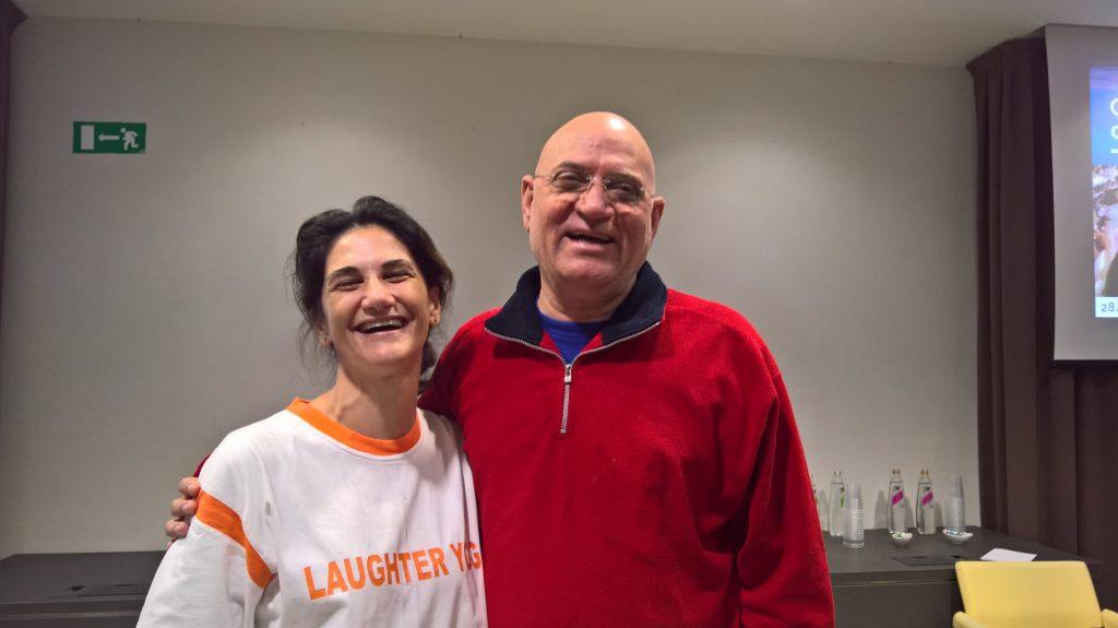 Antonella Semilia e il Dr. Kataria   Scoprirecosebelle
