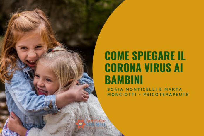 Come spiegare il Corona Virus ai bambini   ScoprireCoseBelle